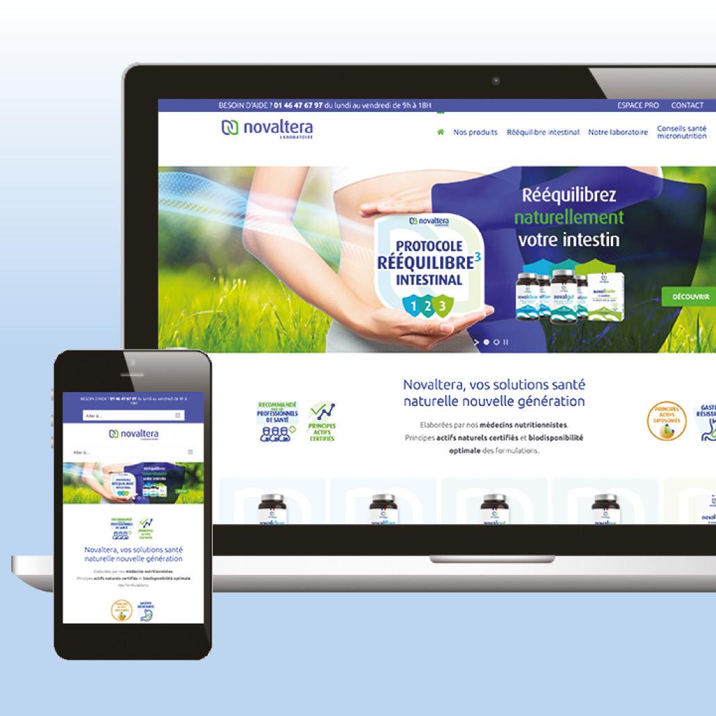 plateforme de marque Stratégie site responsive