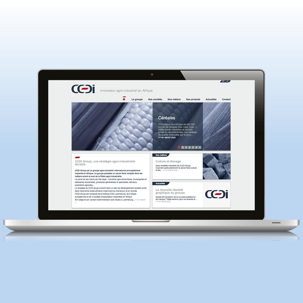 Site internet corporate bilingue
