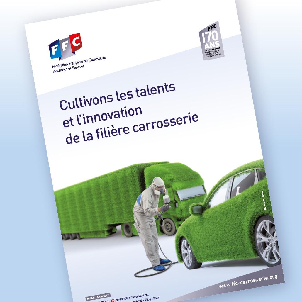 Pilotage stratégique FFC Plateforme de marque campagne pub annonce presse, affiches