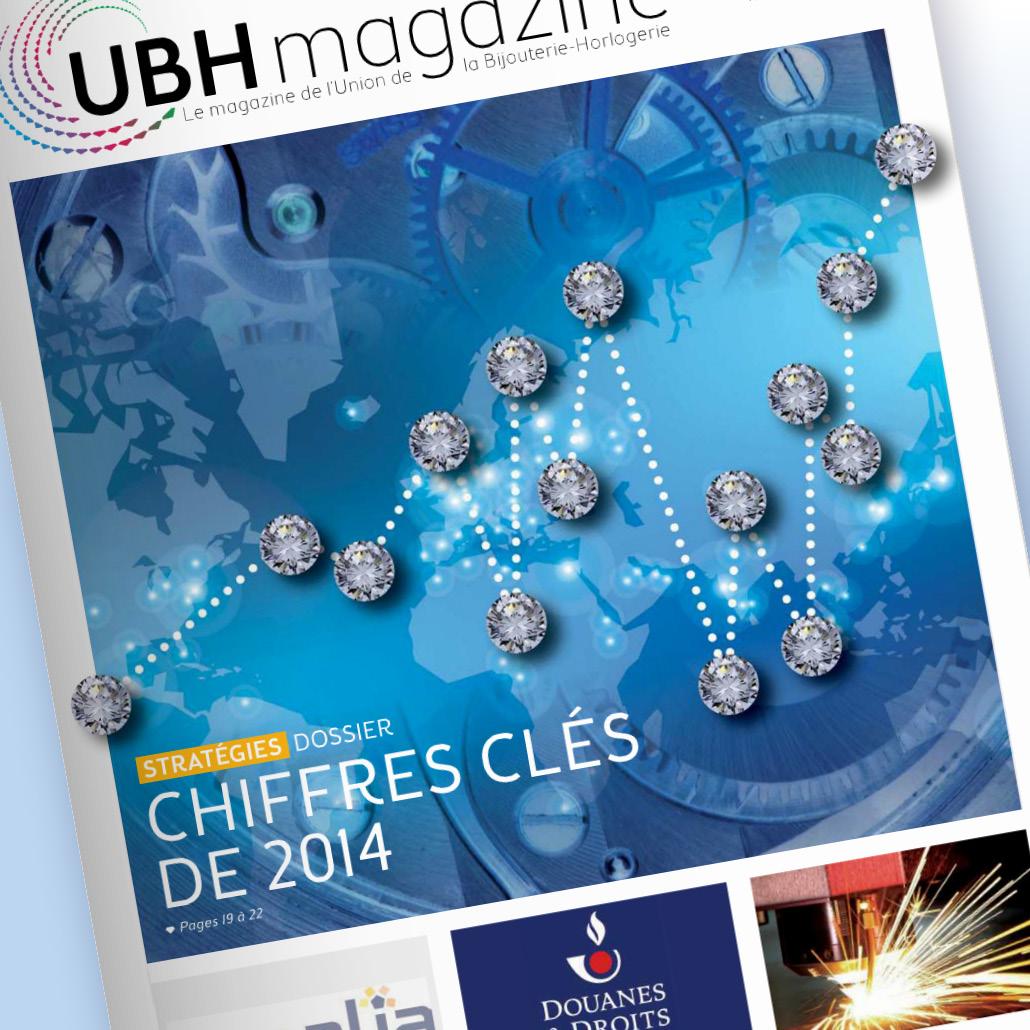 Stratégie de communication fédération UBH - Couverture Magazine