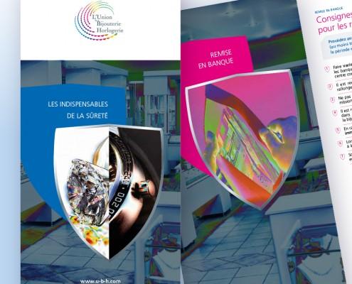Stratégie de communication fédération UBH sûreté - Création du Livret