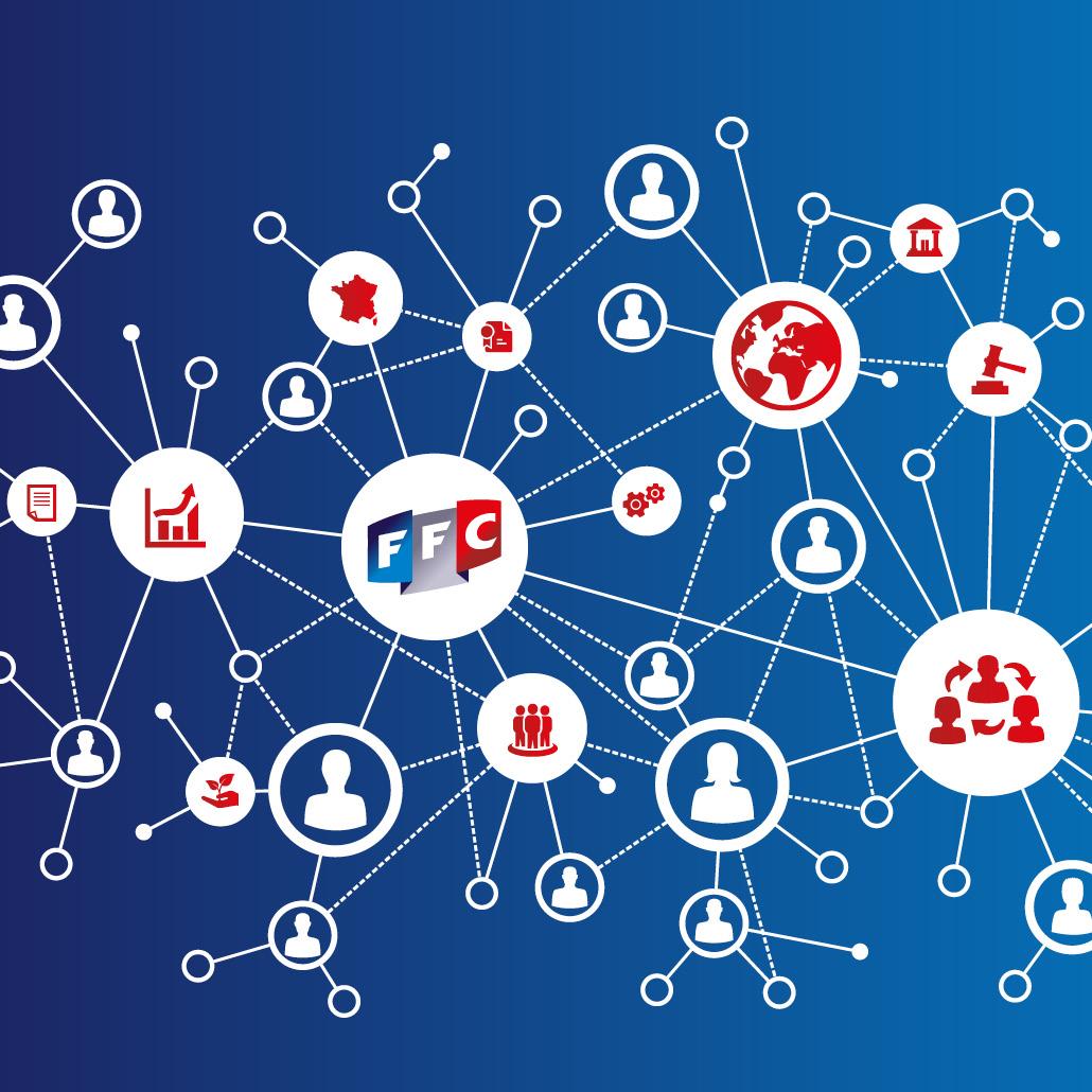 Nouveau concept de communication visuelle - les services FFC