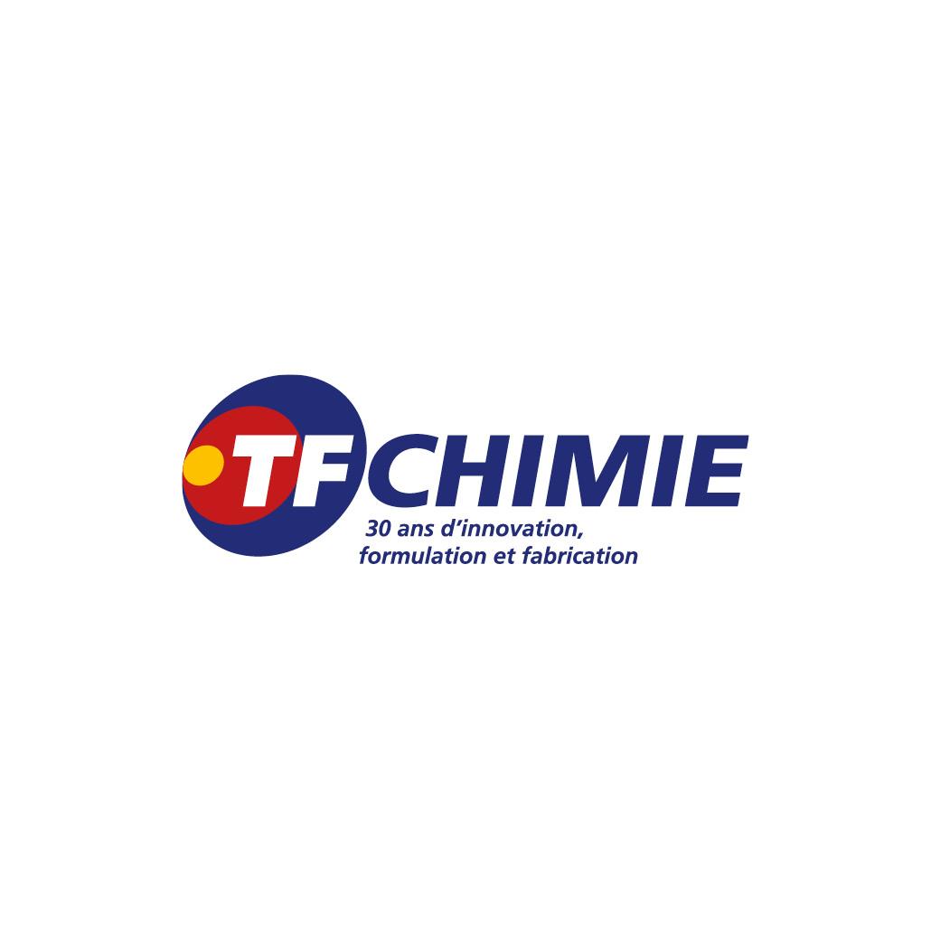 agence design paris agence marquante logo TF CHIMIE