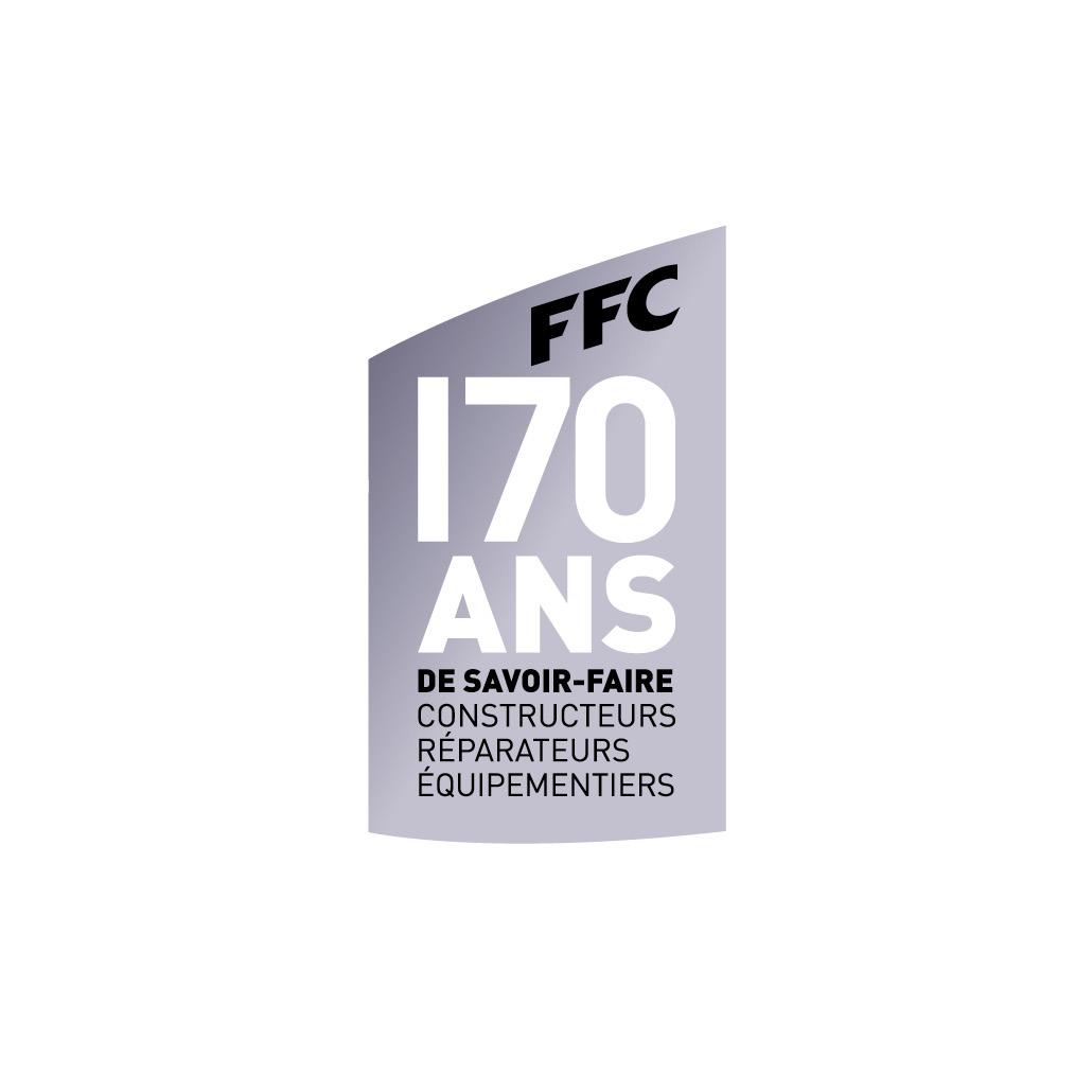 Concept et logo 170 ans de la marque