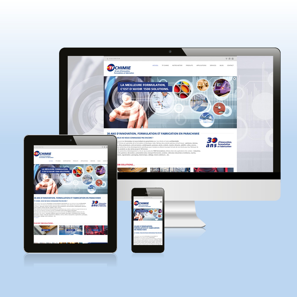 Site institutionnel responsive