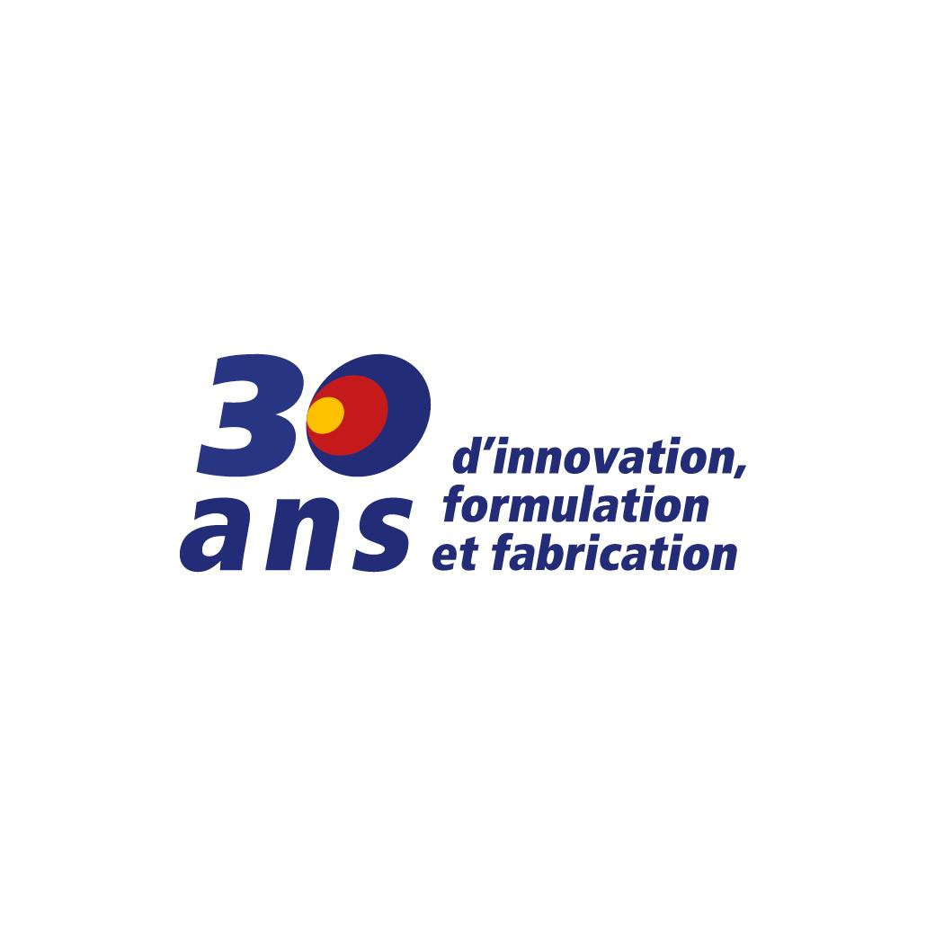 agence design paris agence marquante TF CHIMIE Création de logo 30 ans de la marque