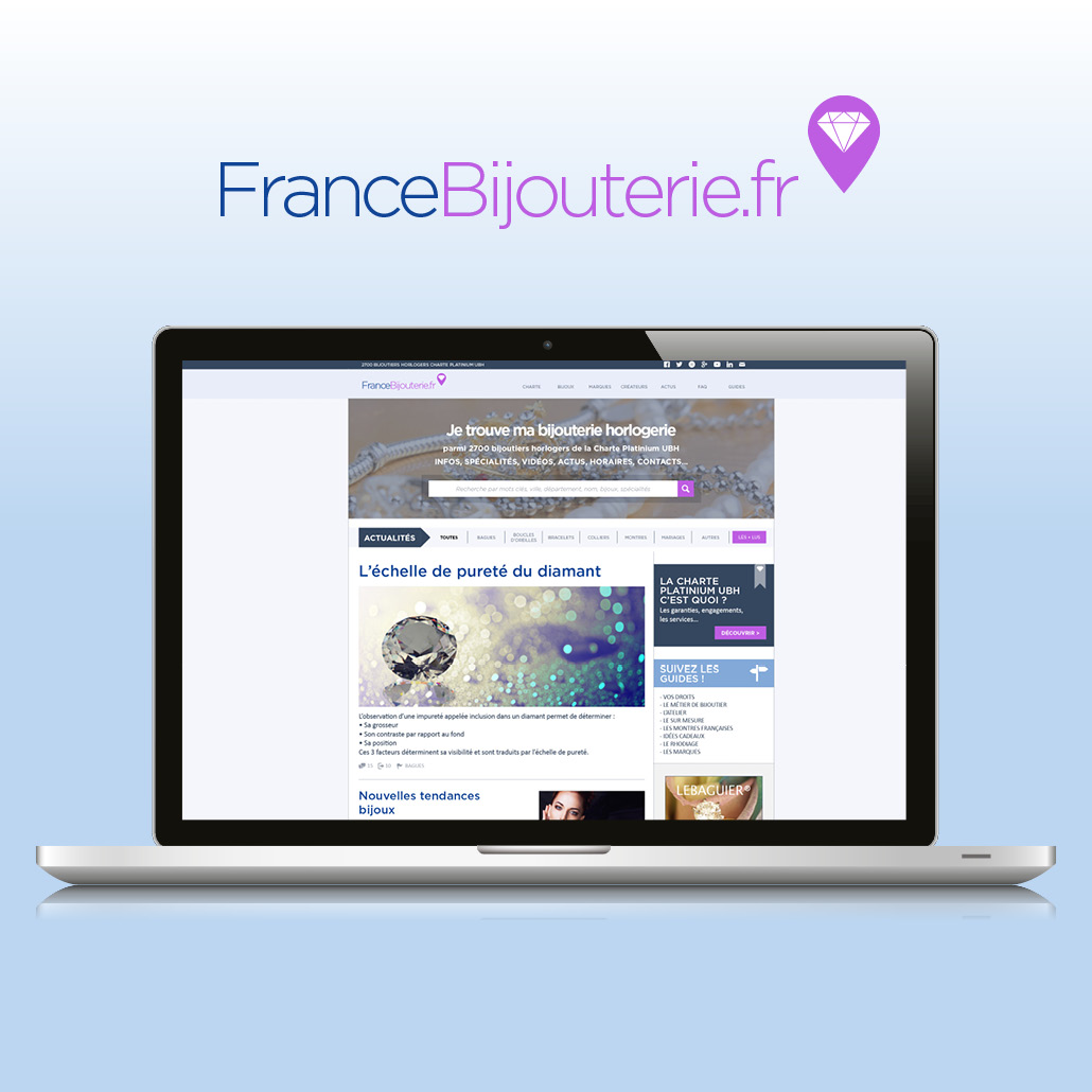 conseil marketing agence marquante UBH Site internet 2