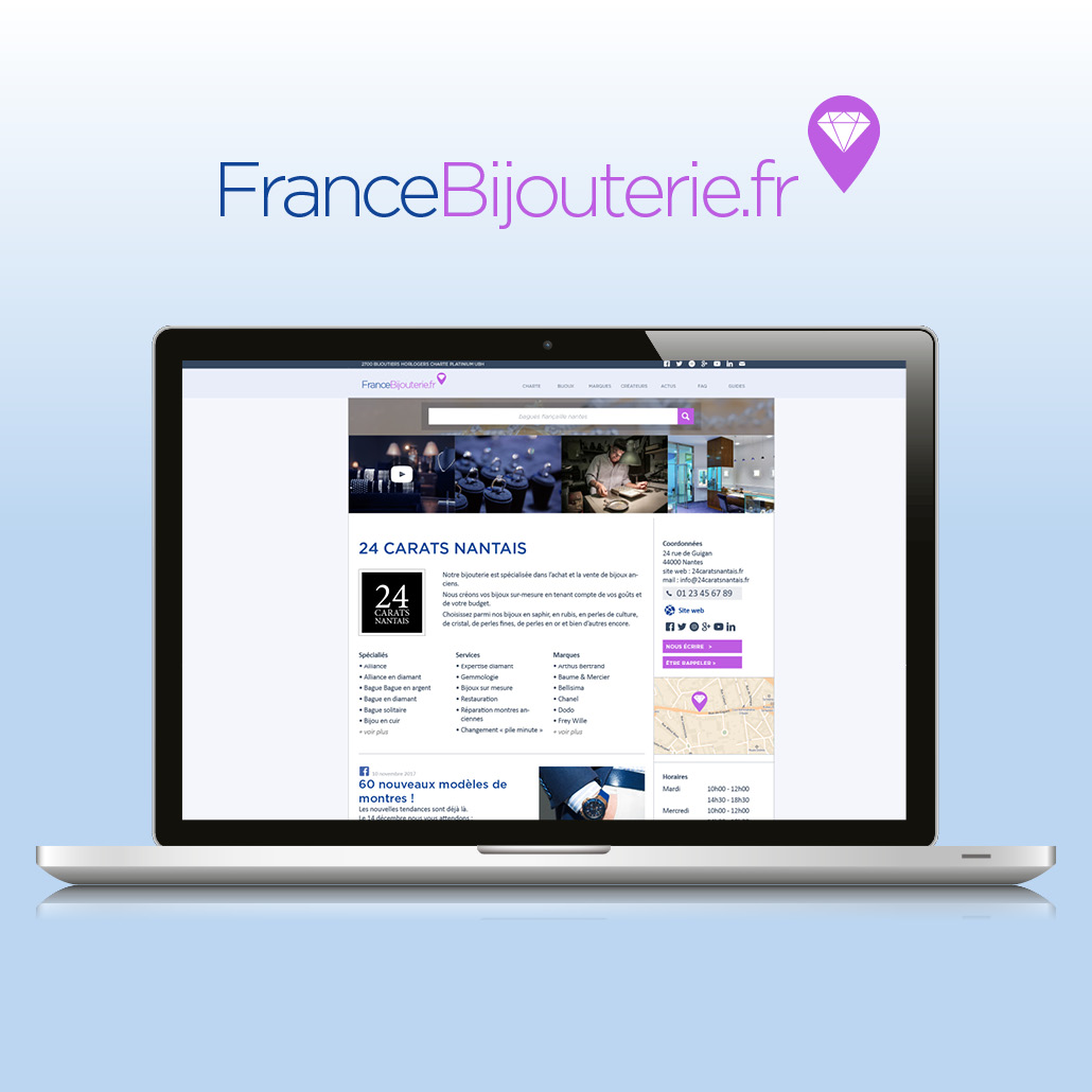 conseil marketing agence marquante UBH Site internet