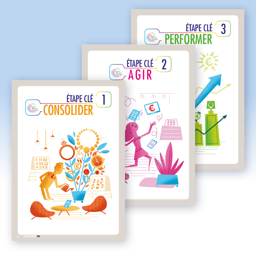 conseil marketing agence marquante UBH Brochures guides