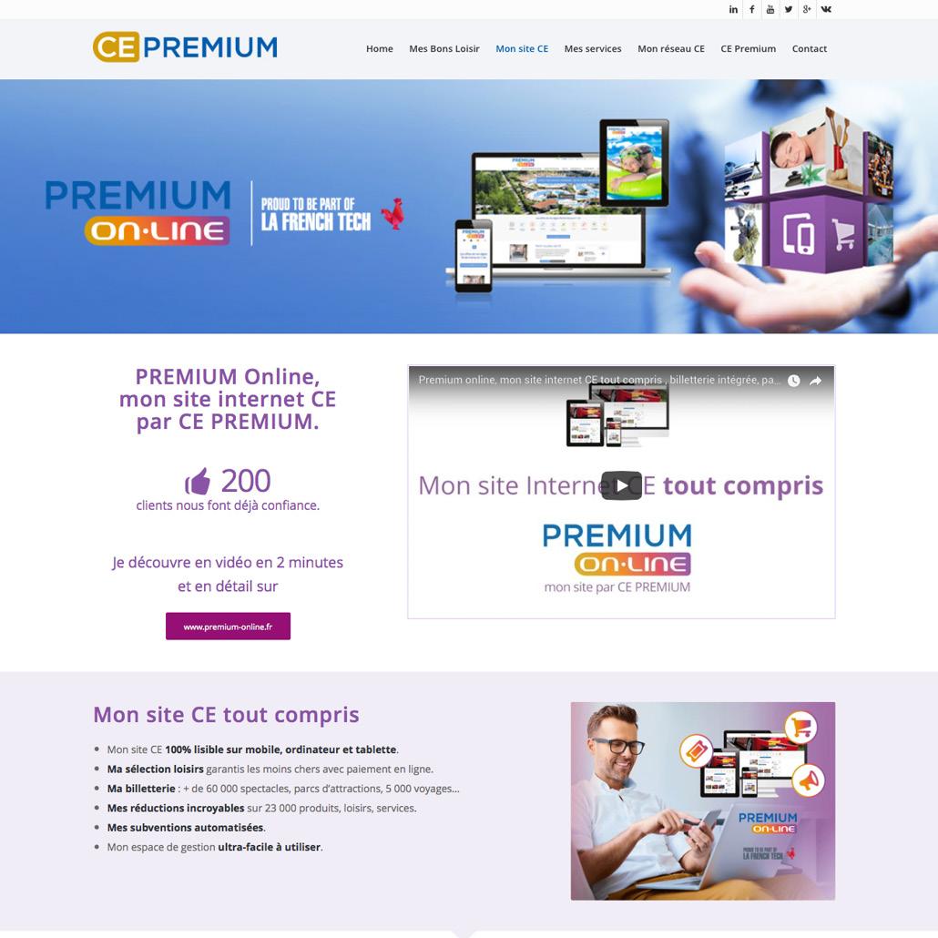 site internet ce cse agence -plateforme de marque communication