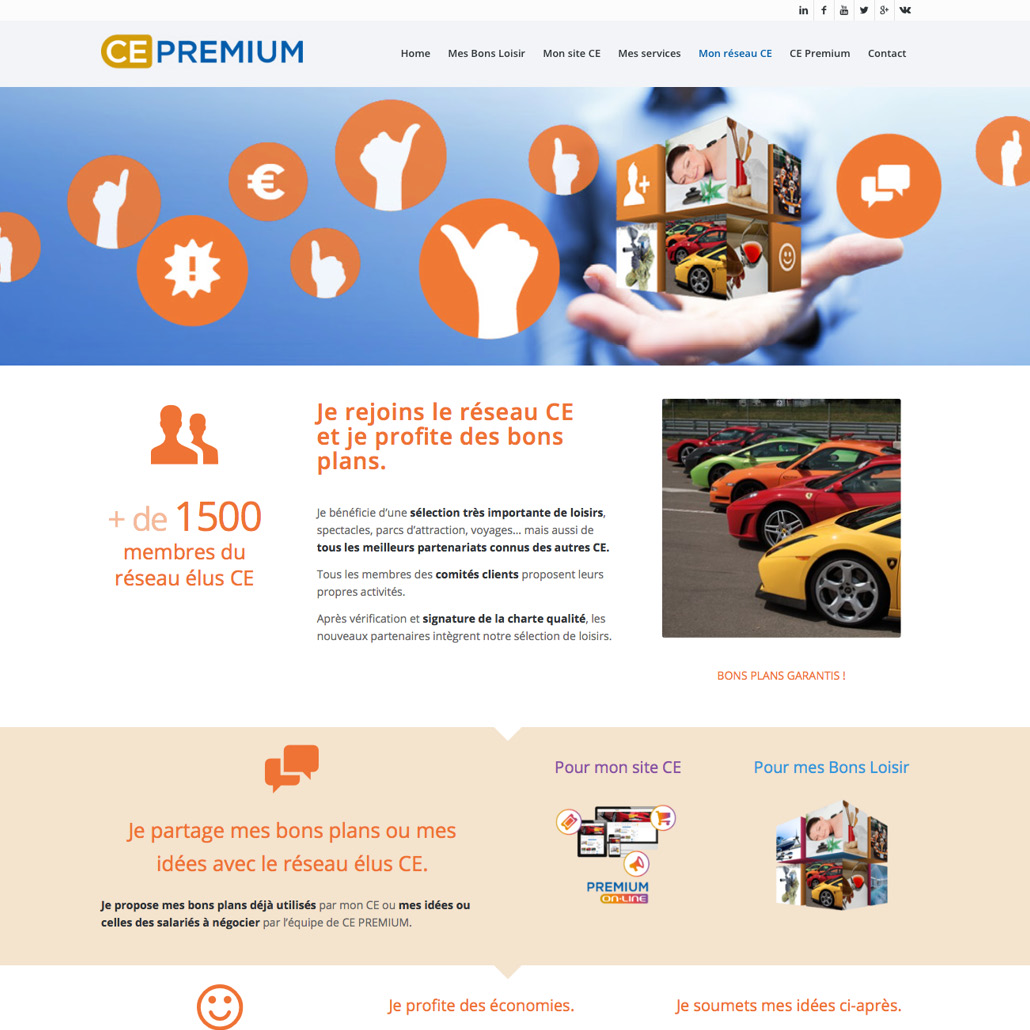 site internet comité d'entreprise ce cse positionnement de la marque