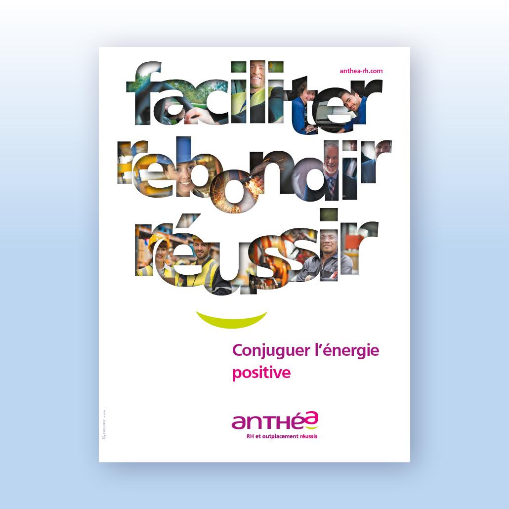 Création de marque Anthea RH Lead Leader