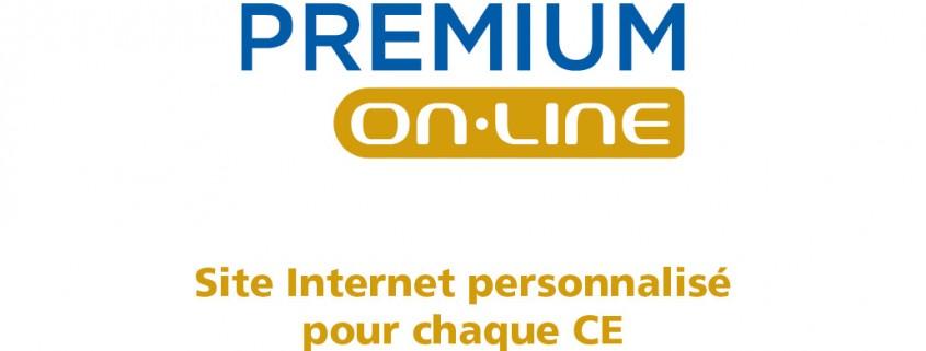 Premium Online site internet comité d'entreprise CLÉ EN MAIN