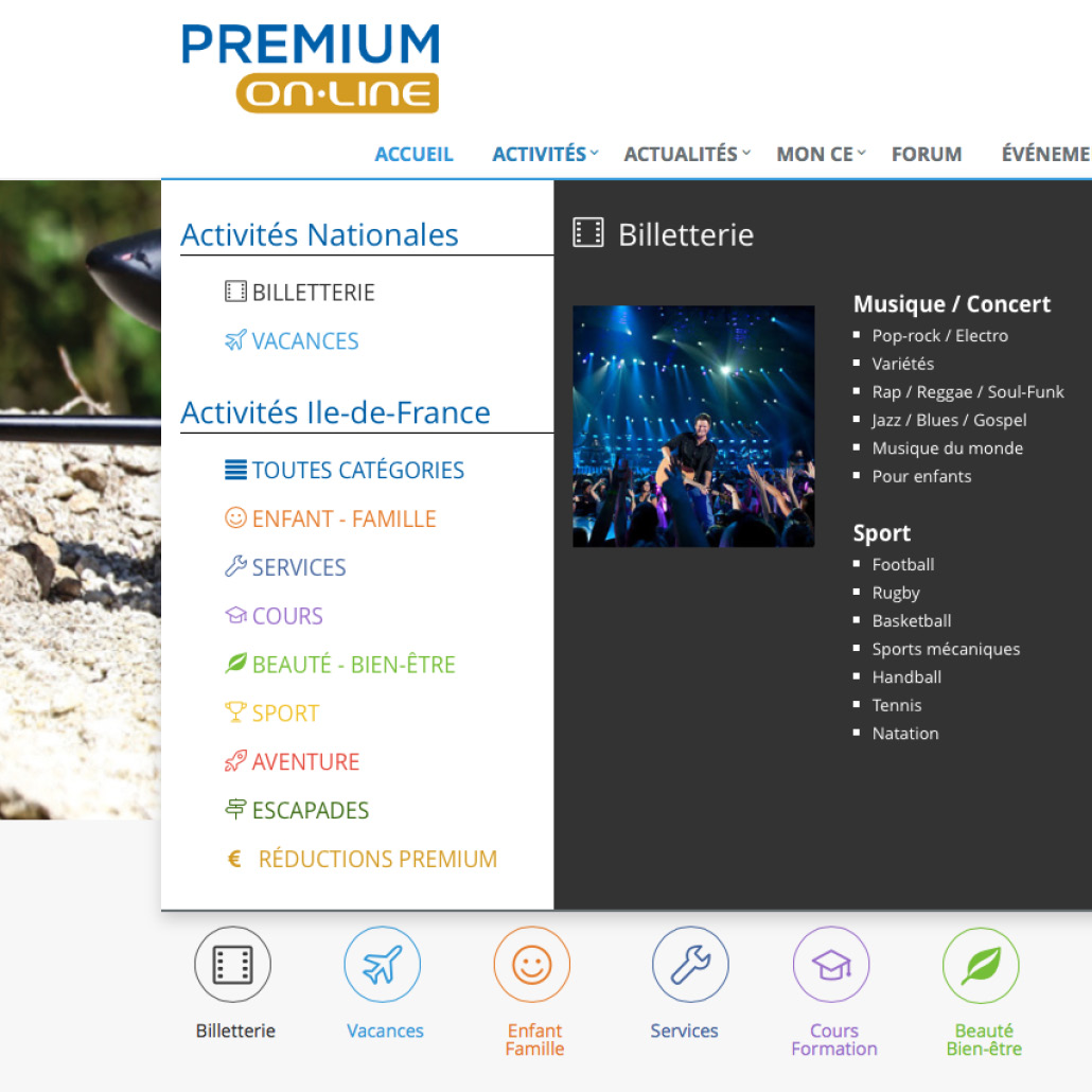 Application e-commerce intuitive et performante